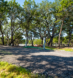 Modern campsites with full-hookups, metered electric, 30-50 amp service, cable and sewer.
