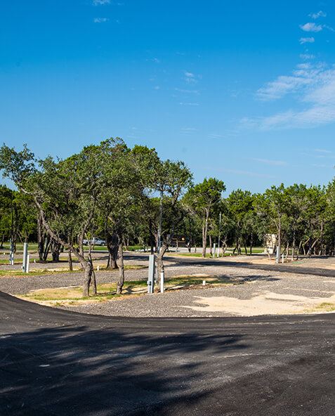 Sienna Ridge RV Park located off of FM306 at Canyon Lake, TX.
